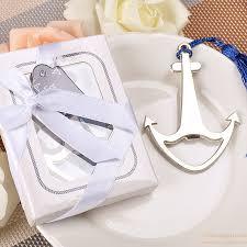 bottle opener favors silver metal anchor bottle opener wedding favors hot sale gift
