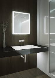 Bathroom Mirror Built In Light by 6 Benefits Of Backlit Mirrors Aamsco Lighting