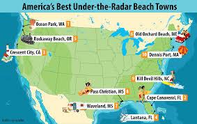 america u0027s best under the radar and affordable beach towns sun