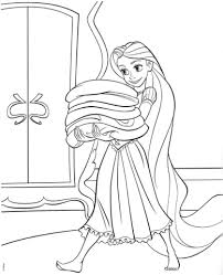 tangled rapunzel coloring free printable coloring pages