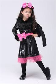 black cat halloween costumes for girls aliexpress com buy kid u0027s halloween costume cat cosplay for