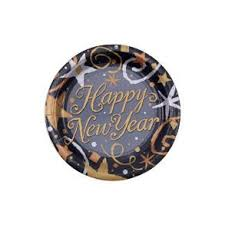 new year plates happy new year plates new year s party cake