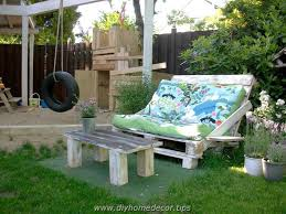 pallet outdoor furniture plans diy home decor