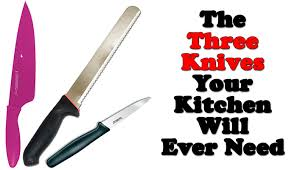 what kitchen knives do i need fast food recipe how many knives do you really need in the kitchen