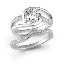rings bridal 47 best swirl bridal sets images on promise rings