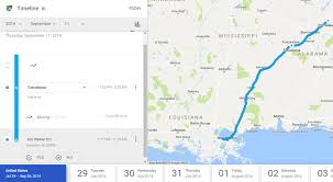 timeline maps how to view maps location history