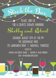 stock the bar shower couples shower invitations printswell