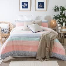 kas alieta quilt cover set king bed multi colour bed linen
