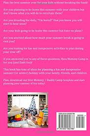 summer holiday planner template mommy camp for dads too plan the best summer ever for your