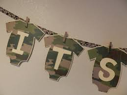 baby shower banner its a boy camo shelly villarreal flickr