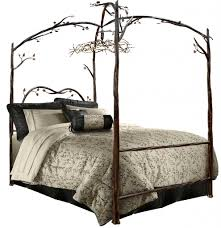 Iron King Bed Frame Decorative Wrought Iron King Bed Vine Dine King Bed Stylish