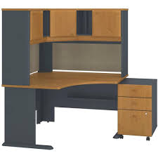 Bush Computer Desk With Hutch by Bush Business Furniture Sra040ncsu Bbf At Bizchair Com