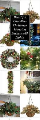 christmas hanging baskets with lights you guys it s december already that s exciting right my mom and
