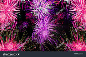 fireworks background new years 2016 stock illustration