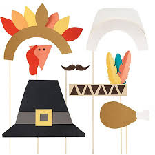 thanksgiving props thanksgiving photo props kit rainy day
