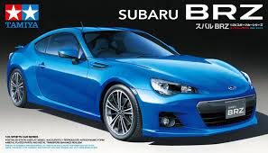 brz subaru silver amazon com tamiya 1 24 subaru brz model car kit toys u0026 games