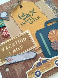 vacation photo album mini album archives inspired paper craftsinspired paper crafts