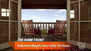 Home Interiors Deer Picture by Hollywood Mogul U0027s Deer Valley Ski House Youtube