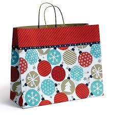 twinkling ornaments shopping bags 16 x 6 x 13 250