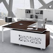 modele bureau bureau avec retour 180cm 240cm en aluminium eight lemondedubureau