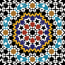 Morocco Design by Traditional Morocco Pattern Royalty Free Cliparts Vectors And