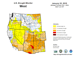 california map drought monterey county farm bureau drought monitor map