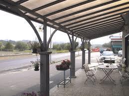 tettoia in ferro tettoia auto in ferro id礬es de design d int礬rieur