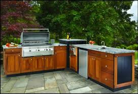 Outdoor Kitchen Cabinets Polymer The Tuscan Teak Series