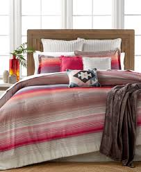 10 Pc Comforter Set Closeout Reeves Sunset Stripe 10 Pc Comforter Set Created For