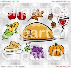 thanksgiving icons pictures clipart thanksgiving turkey corn apple leaf acorn wine pumpkin