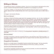 funeral obituary templates free obituary template sadamatsu hp