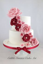 ruby wedding cakes 8 40th anniversary cakes with roses photo 40th wedding
