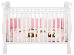 White Convertible Baby Crib Davinci 3 In 1 Convertible Crib In White M7301w