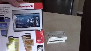 new honeywell wifi smart thermostat youtube