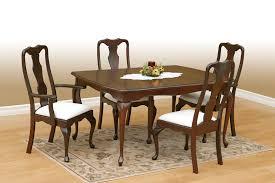 cherry wood dining room set solid oak amp cherry furniture queen anne dining room sets solid