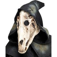 Horse Skeleton Halloween Amazon Com Horse Skull Hooded Mask Clothing