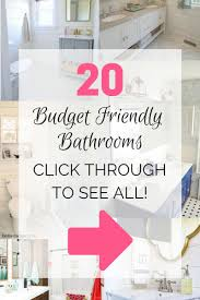 20 best bathroom makeovers that are budget friendly