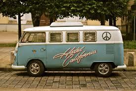 volkswagen bus tattoo vanlife