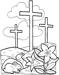 easter for preschoolers coloring page free download