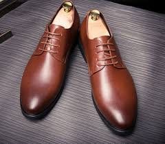 high quality british style genuine leather burgundy slip on