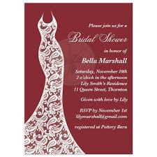 bridal invitations sle invitations for wedding shower fresh wedding shower