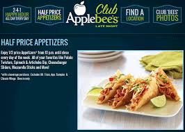 applebees coupons on phone pinned july 20th 50 appetizers after 10pm at applebees