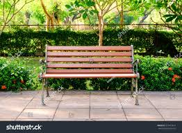 Wooden Park Bench Wooden Bench City Park Stock Photo 515471614 Shutterstock
