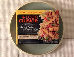 are lean cuisines healthy lean cuisine mango chicken with coconut rice review freezer meal