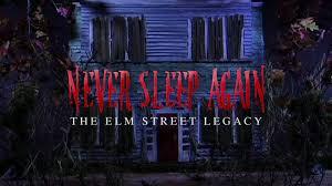 never sleep again making a nightmare on elm street