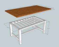Best  Farmhouse Table Plans Ideas On Pinterest Diy Farmhouse - Farm table design plans