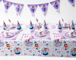 sofia the party supplies sofia party supplies etsy
