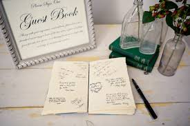 vintage wedding guest book vintage wedding guest book