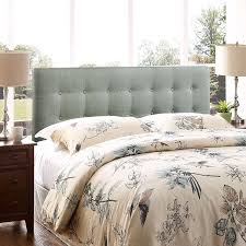 Fabric King Headboard Modway Emily Upholstered Tufted Button Fabric King