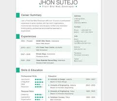 Resume Template Html Incredible Cool Resume Templates 9 28 Free Cv Resume Templates